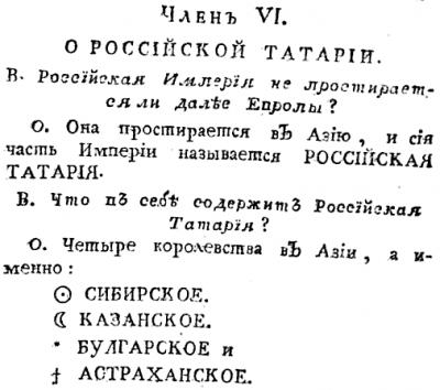 Россiйская Татарiя