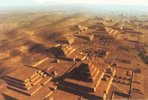 Пирамиды под поверхностью пустыни