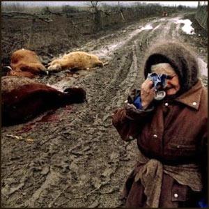 Уничтожение сельского хозяйства