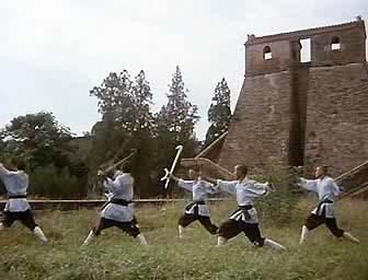 Тайное боевое искусство Шаолиня / Shao Lin zhen gong fu (1995) VHSRip