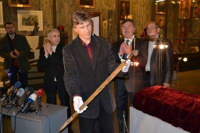 В Днепре найден меч князя Светослава