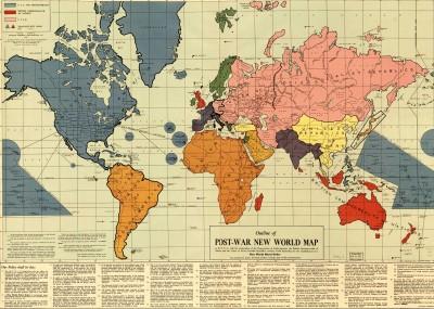 Карта Нового Мирового Порядка
