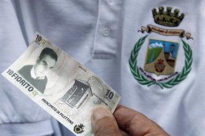 Фиорето - валюта заменяющая Евро в одном итальянском городе