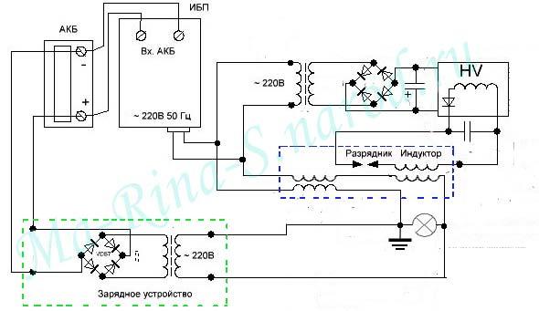 Схема бестопливного генератора своими руками