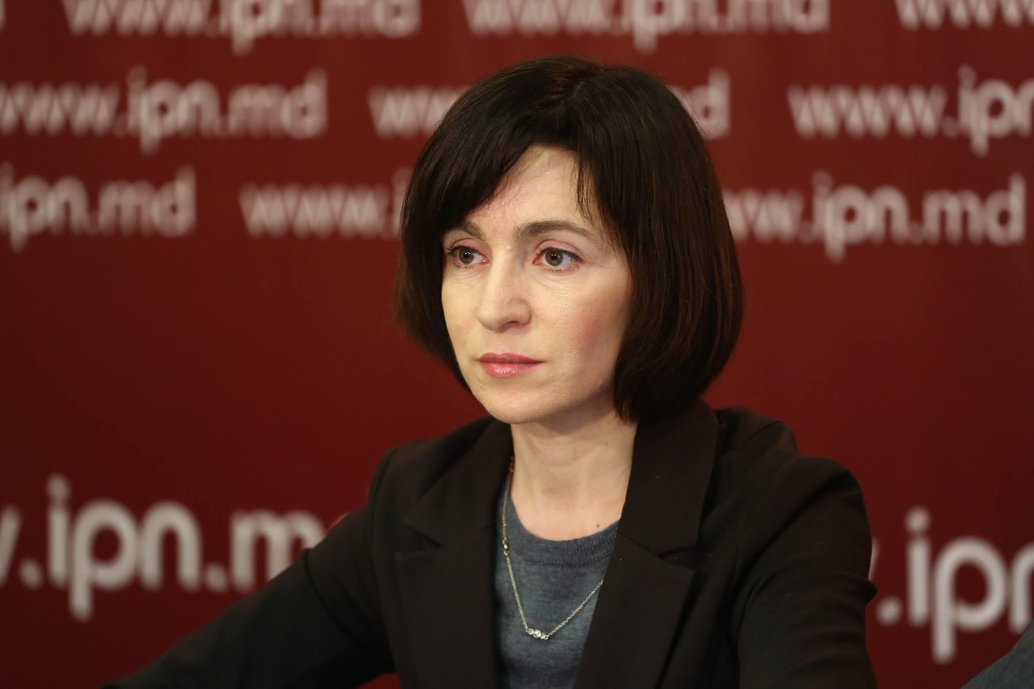 Санду: Объем нелегальных финансовых потоков в Молдове оценивается в $1 млрд в год