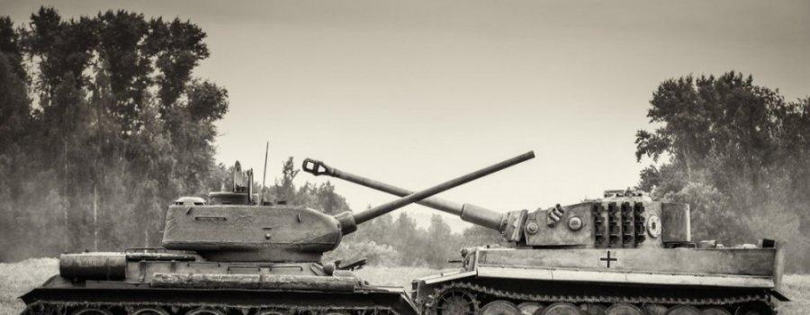 Танковая дуэль Т34 и Пантеры. Такого в танковой истории больше не было