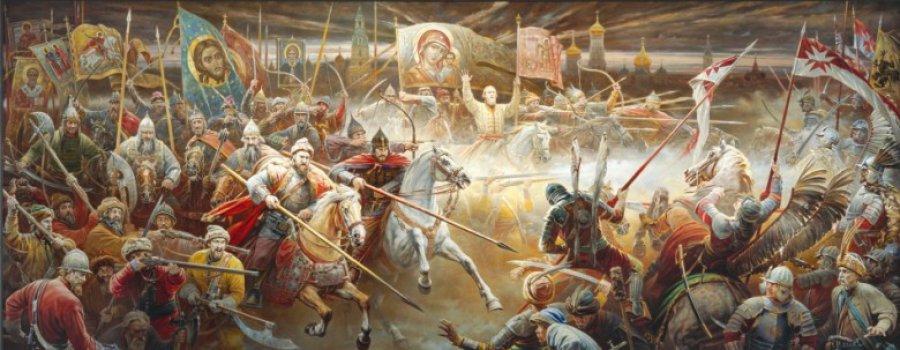 В каких битвах русские побеждали армии, превосходившие их по численности?