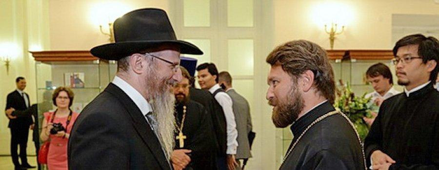 Национальное предательство: представители РПЦ совместно с Иудеями пропагандируют анти-сталинизм!