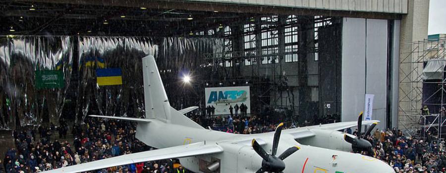На Украине впервые поднялся в воздух новый самолет Ан-132