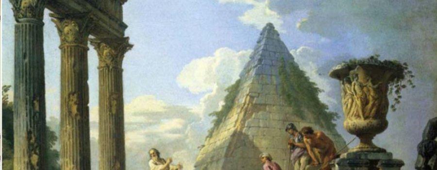 Потерянная история: Руины древней цивилизации на старинных картинах