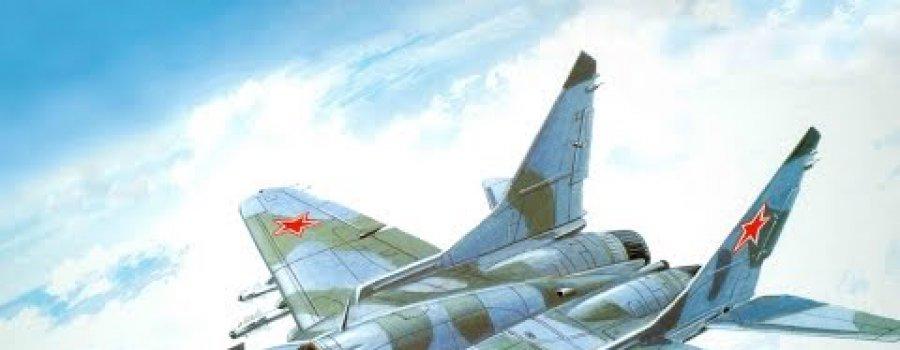 Последнее,что увидел американский пилот,был российский МИГ-29