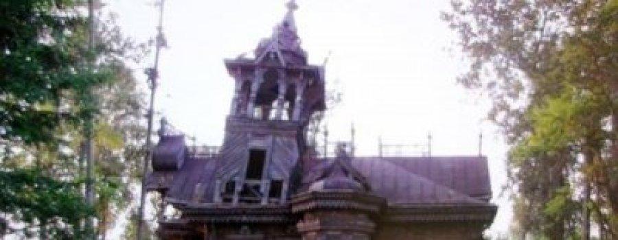 Чудесное спасение деревянного терема. Бизнесмен спас архитектурное сокровище дореволюционной эпохи