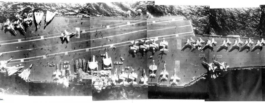 Как наши истребители Су-27 «потопили» авианосец США