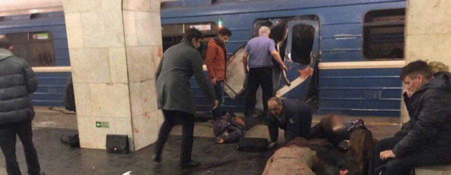 Взрывы в петербургском метро: есть жертвы