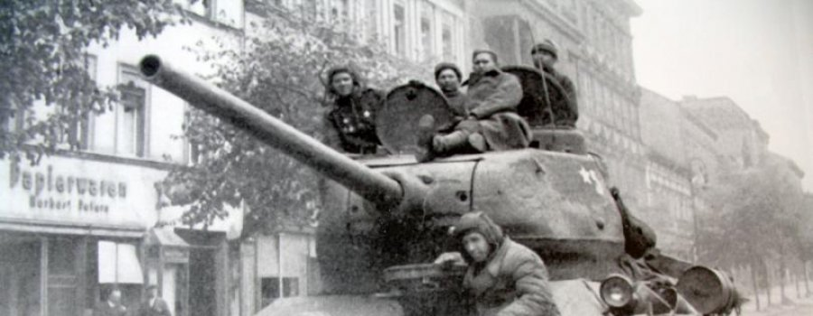 Танк Т-34 напал на вермахт, как монстр
