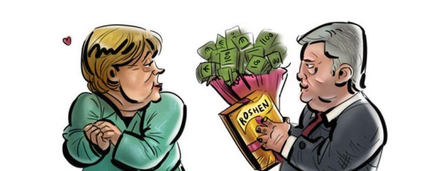Меркель победит на федеральных выборах за счет Порошенко?