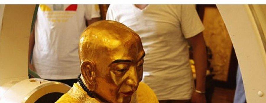 Здоровый мозг обнаружен в голове 1000-летней мумии буддийского монаха
