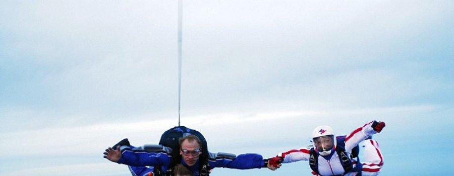 Что может быть лучше прыжка с парашютом?