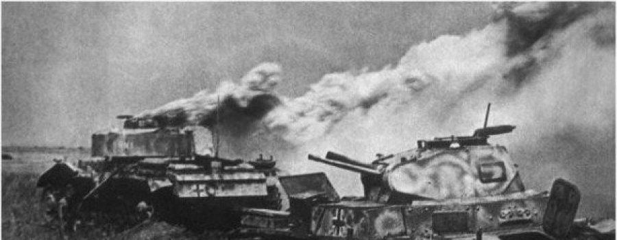 Один против колонны немецких танков