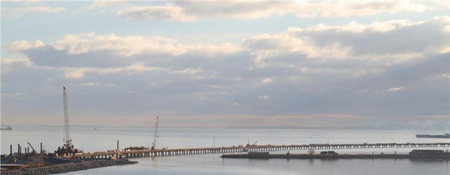 Керченский мост 2016